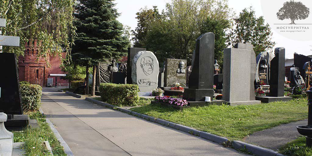 Кто похоронен на Новодевичьем кладбище из знаменитостей?