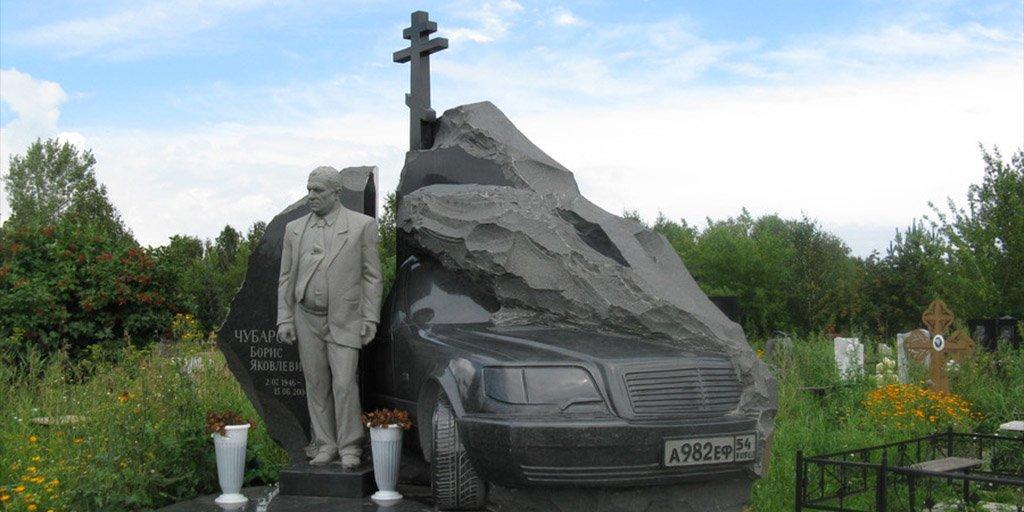 мода на надгробные памятники