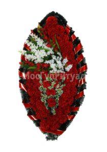 Венок ритуальный на похороны серия «стандартный» №28