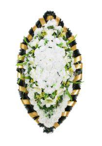 Венок ритуальный на похороны серия «стандартный» №29